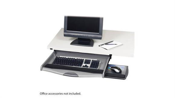 Keyboard Trays Safco Office Furniture Ergo-Comfort® Premium Underdesk Keyboard Drawer