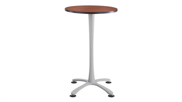 """Pub & Bistro Tables Safco Office Furniture 30"""" Round,  X Base Bistro-Height"""