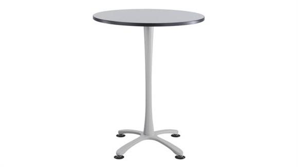 """Pub & Bistro Tables Safco Office Furniture 36"""" Round,  X Base Bistro-Height"""