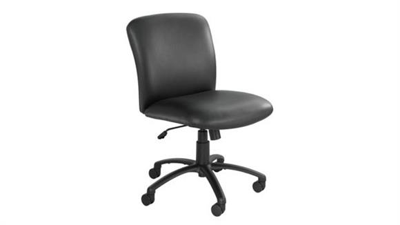 Big & Tall Safco Office Furniture Uber™ Big and Tall Mid Back Chair - Vinyl