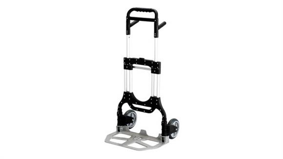 Hand Trucks & Dollies Safco Office Furniture STOW AWAY® Heavy Duty Hand Truck