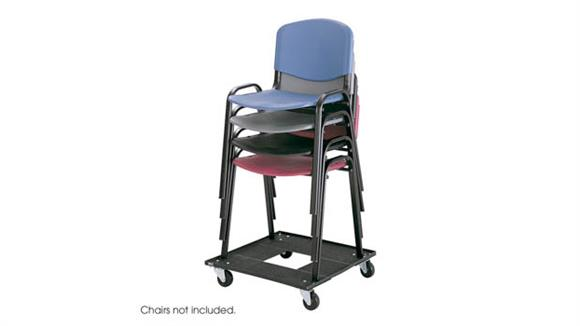 Chair Carts Safco Office Furniture Stack Chair Cart