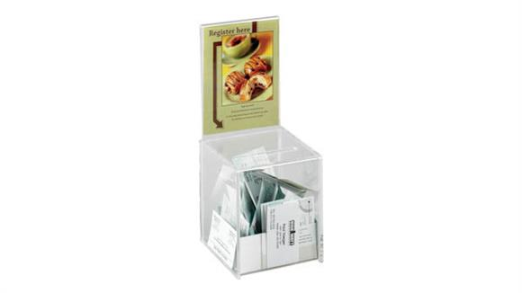 Office Organizers Safco Office Furniture Small Acrylic Collection Boxes