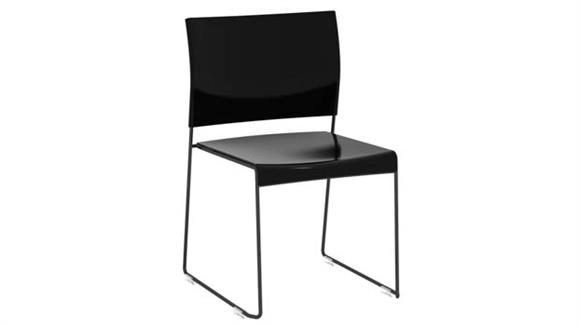 Stacking Chairs Safco Office Furniture Currant™ High Density Stack Chair (Qty. 4)