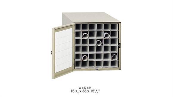 "Media Storage Safco Office Furniture 38"" D Steel Roll File, 36 Tube"