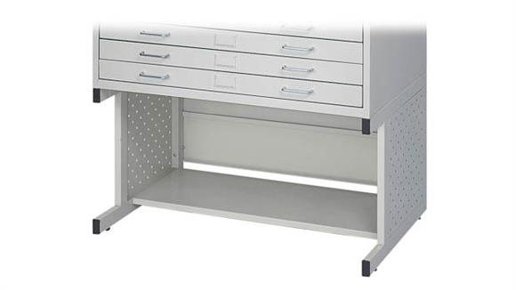 Flat File Cabinets Safco Office Furniture Facil Flat File High Base-Small
