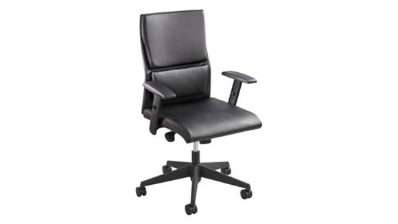 Office Chairs Safco Office Furniture Tuvi™ Mid Back Executive Chair