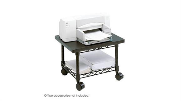 Printer Tables Safco Office Furniture Under-Desk Printer/Fax Stand