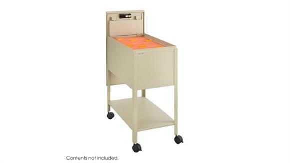 Mobile File Cabinets Safco Office Furniture Letter Size Mobile Steel Tub File