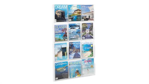 Magazine & Literature Storage Safco Office Furniture 12 Magazine Display