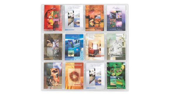 Magazine & Literature Storage Safco Office Furniture 12 Booklet Display