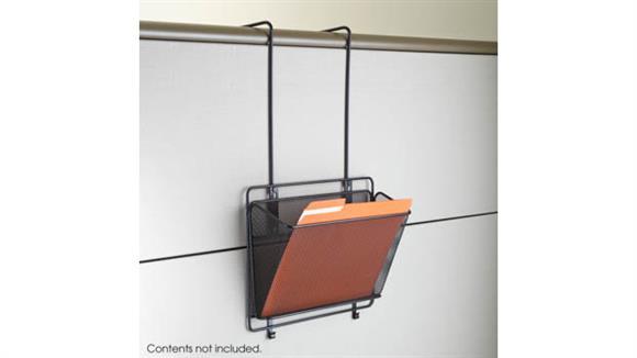 Desk Organizers Safco Office Furniture Onyx™ Panel Organizer Basket