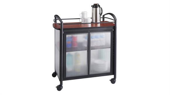 Hospitality Carts Safco Office Furniture Refreshment Cart