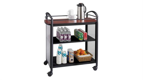 Hospitality Carts Safco Office Furniture Beverage Cart