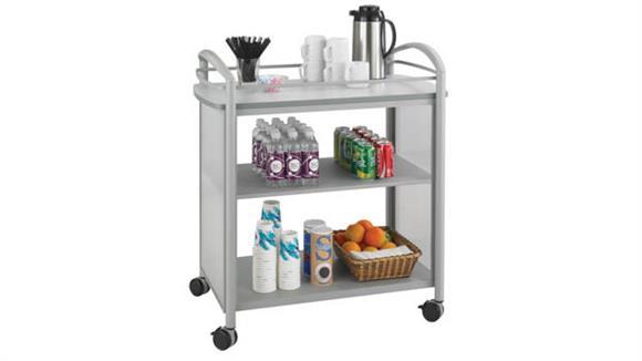 Hospitality Carts Safco Office Furniture Beverage Cart