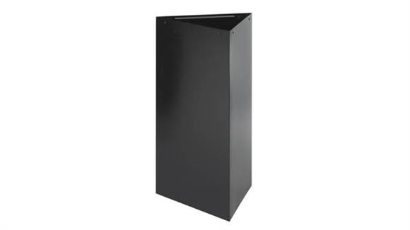 """Waste Baskets Safco Office Furniture 34""""H Recycling Base"""