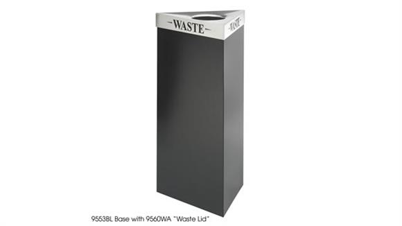Waste Baskets Safco Office Furniture 21 Gallon Waste Receptacle