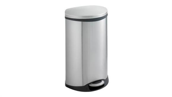 Waste Baskets Safco Office Furniture Ellipse Step On Receptacle 12.5 Gallon