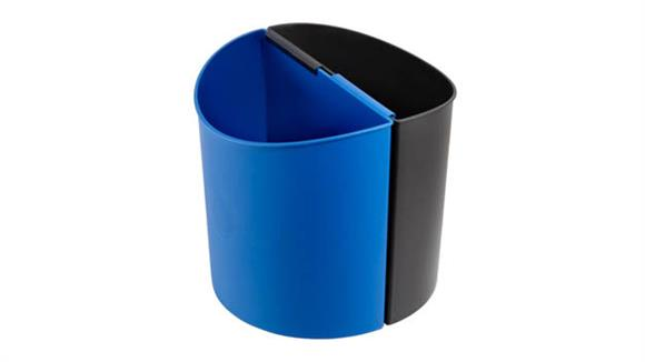 Waste Baskets Safco Office Furniture Desk-Side Recycling Receptacle-SM