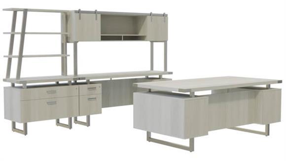 Computer Desks Safco Office Furniture Typicals Desk Set