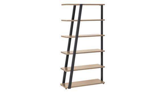 Bookcases Safco Office Furniture 5 Shelf Bookshelf