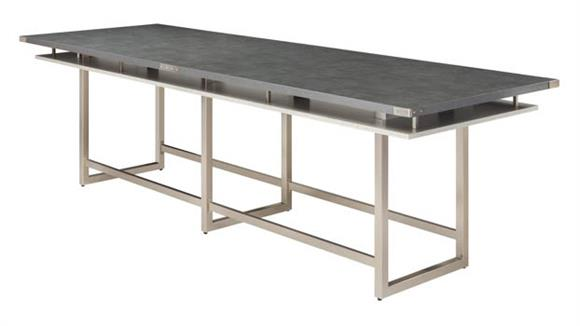 Conference Tables Safco Office Furniture 12' Conference Table, Standing-Height
