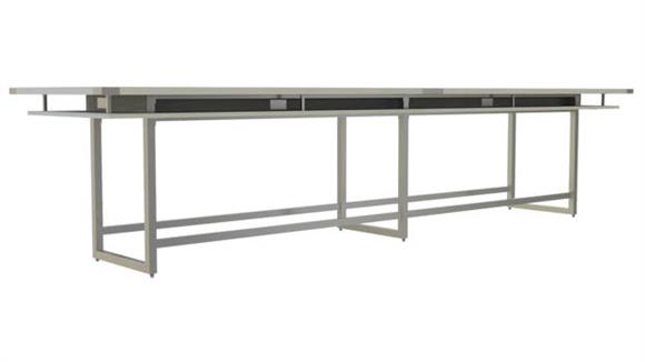 Conference Tables Safco Office Furniture 16' Conference Table, Standing-Height