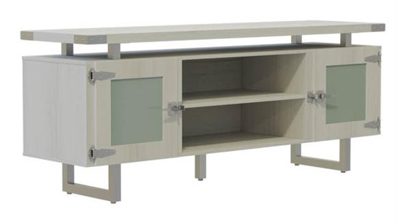 Storage Cabinets Safco Office Furniture Low Wall Cabinet Glass Doors