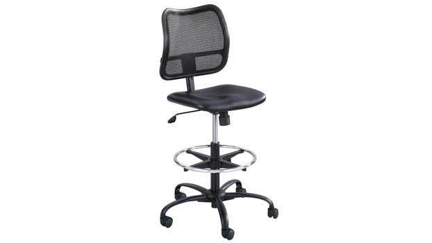 Safco Office Furniture Extended-Height Vinyl Chair