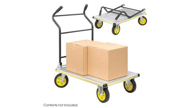 96f1a8b5d8a7 Safco Office Furniture STOW AWAY® Platform Trucks