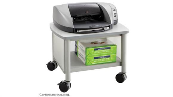 Storage Cabinets Safco Office Furniture Under Table Mobile Printer Stand