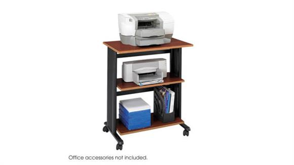 Storage Cabinets Safco Office Furniture Three Level Adjustable Printer Stand
