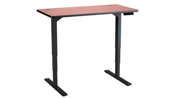 "Adjustable Height Tables Safco Office Furniture 48"" x 24"" Height-Adjustable Table"