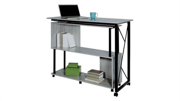 Standing Height Desks Safco Office Furniture Mood™ Standing Height Desk with Rotating Work Surface