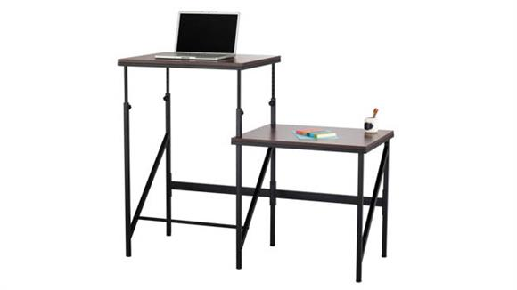 Adjustable Height Desks & Tables Safco Office Furniture Elevate™ Bi-Level Desk