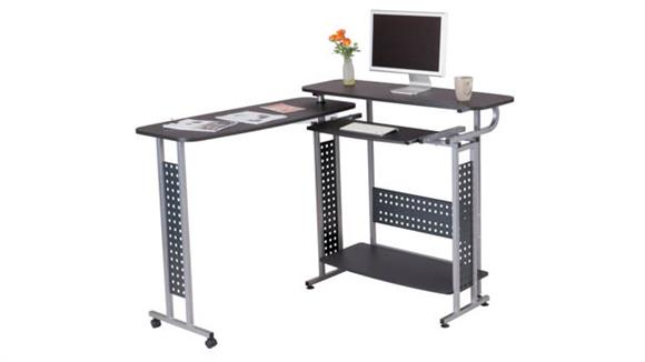 Standing Height Desks Safco Office Furniture Shift Standing-Height Desk with Rotating Work Surface