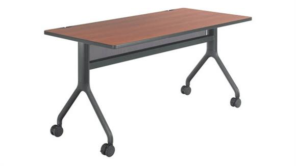 """Training Tables Safco Office Furniture 60"""" x 30"""" Rectangle Table"""