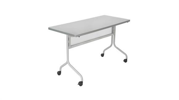 "Training Tables Safco Office Furniture 48"" x 24"" Mobile Training Table, Rectangle"