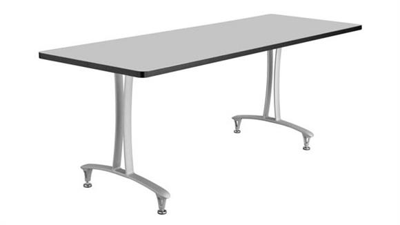 """Training Tables Safco Office Furniture 72"""" x 24"""" Table with Glides"""