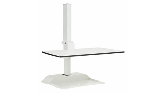 Adjustable Height Desks & Tables Safco Office Furniture Soar™ Electric Desktop Sit/Stand
