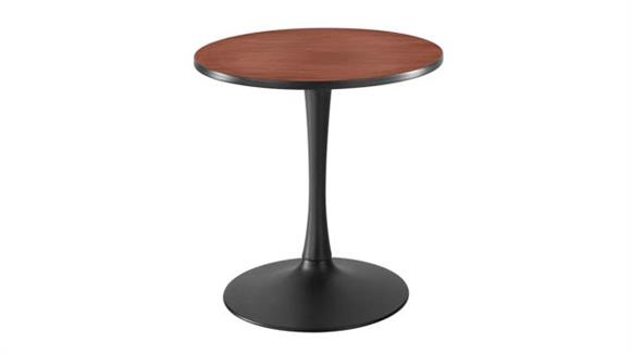 "Cafeteria Tables Safco Office Furniture 30"" Round, Trumpet Base Sitting Height"