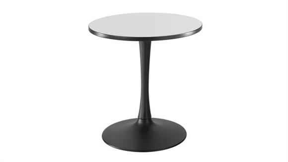 "Cafeteria Tables Safco Office Furniture 30"" Round, Trumpet Base, Sitting Height Table"