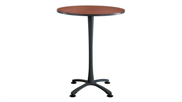 "Pub & Bistro Tables Safco Office Furniture 36"" Round,  X Base Bistro-Height"