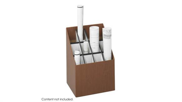 Media Storage Safco Office Furniture Upright Roll File, 12 Compartment