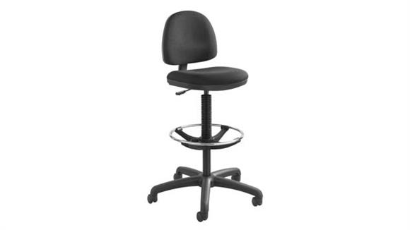 Drafting Stools Safco Office Furniture Precision Extended-Height Chair with Footring