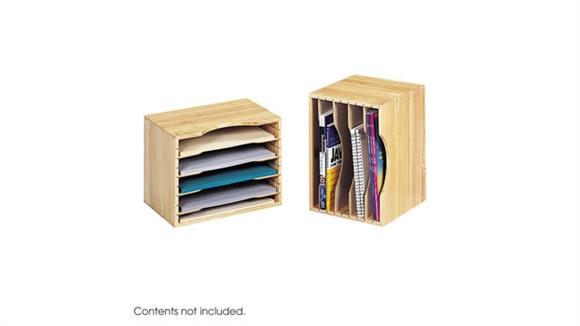 Desk Organizers Safco Office Furniture Wood Stackable Sorters