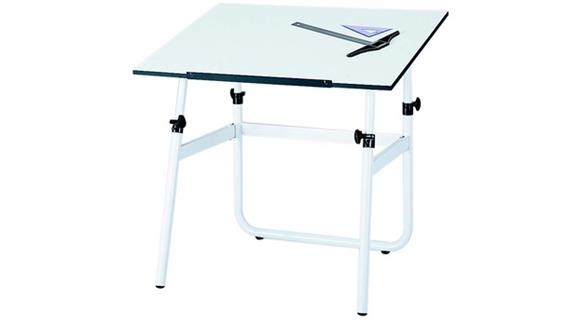 """Drafting Tables Safco Office Furniture Drafting Table, 47 ½"""" x 35 ½"""" with Horizon Base"""