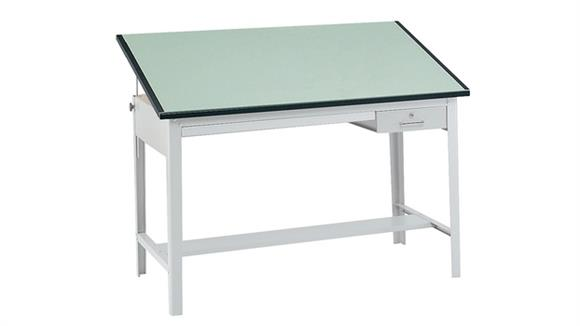 "Drafting Tables Safco Office Furniture Precision Drafting Table, 60"" x 37 1/2"""
