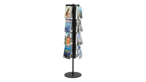 Magazine & Literature Storage Safco Office Furniture In-View™ Rotary Literature Display