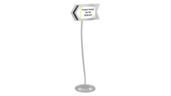 Magazine & Literature Storage Safco Office Furniture Customizable Arrow Sign